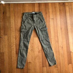 Zara cargo skinny pant